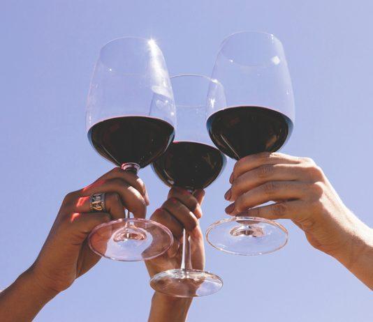 Cata, degustación de vino tinto en Valle de Guadalupe