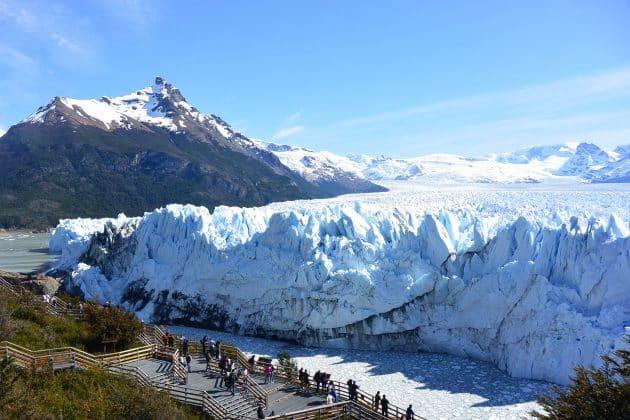 Vista desde Mirador al Glaciar Perito Moreno