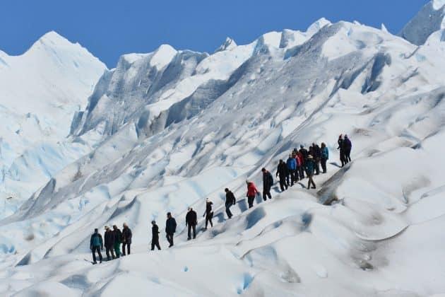 Caminata por El Glaciar Perito Moreno