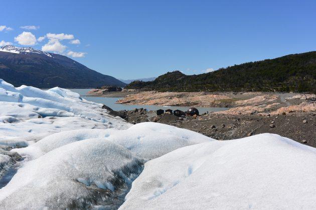 Vista sobre el Glaciar Perito Moreno