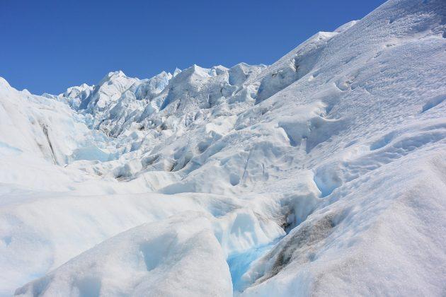 Río en el Glaciar Perito Moreno