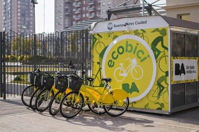 Transporte Público en Bicicleta Buenos Aires