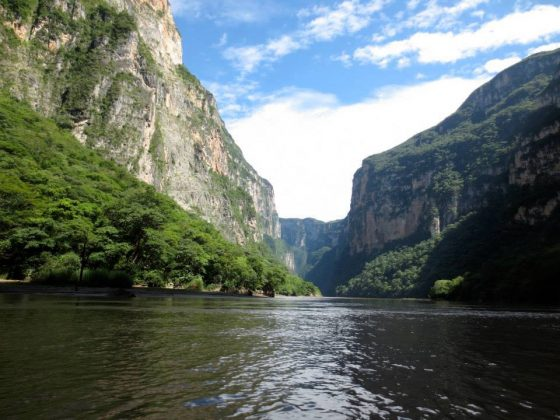 Top Lugar Turístico de Chiapas Cañón del Sumidero