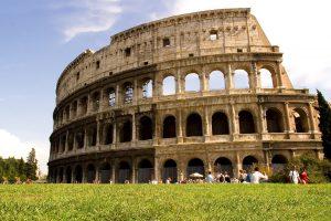 Sitios para visitar en Italia - Coliseo Romano