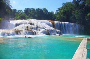 ecoturismo en Chiapas - Agua Azul