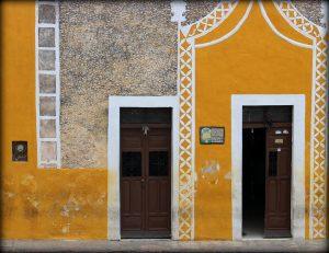 Fachadas amarilas de Izamal