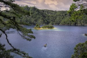 ecoturismo en Chiapas - lagos de montebello