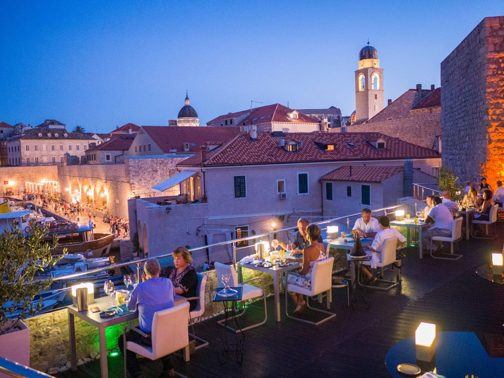 Qué hacer en Dubrovnik Restaurante Lounge 360