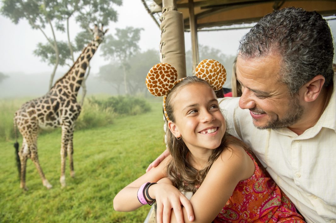 Disney's-Animal-Kingdom_girafa-padre-e-hija