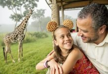 Disney's-Animal-Kingdom_girafa-padre-e-hija