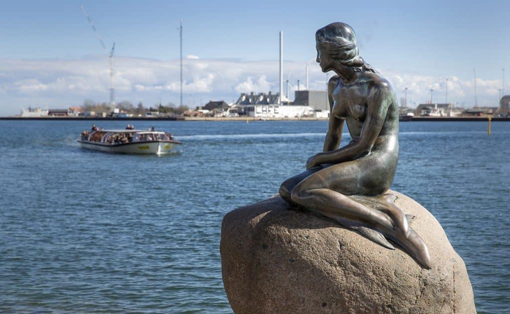 La sirena de Copenhague - Dinamarca