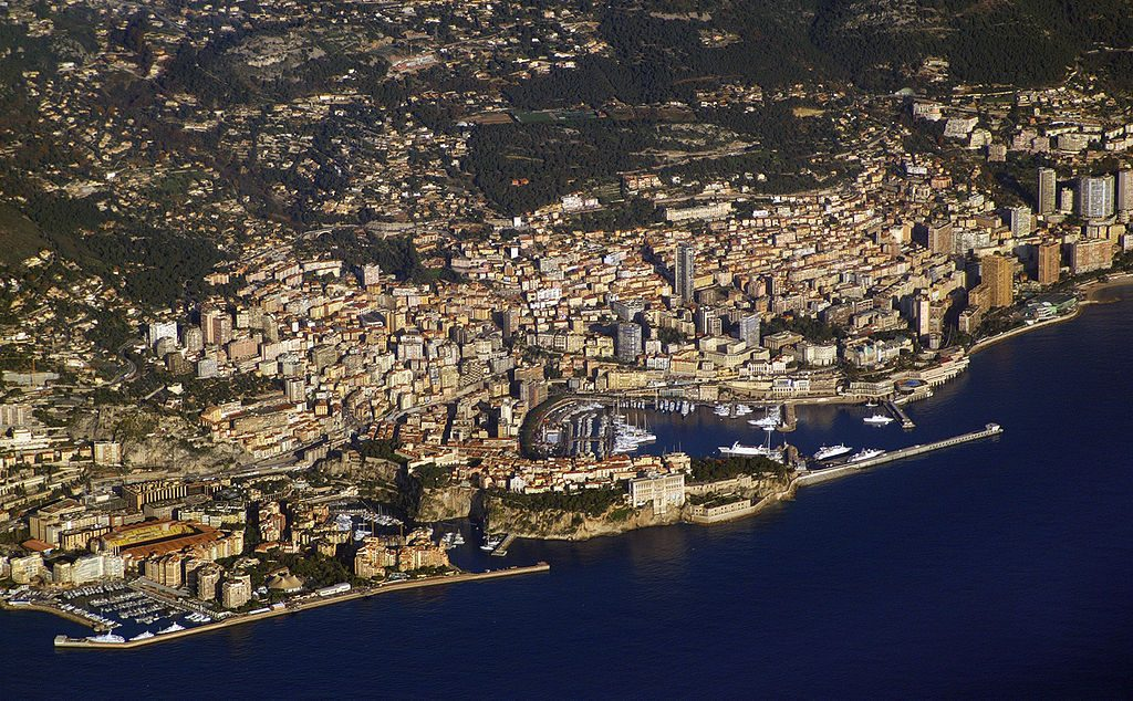 Vista aérea - Mónaco