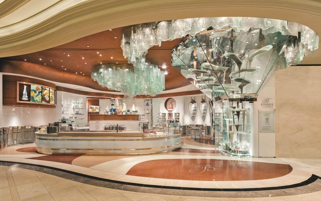 Lobby del hotel Bellagio - mejores paquetes vacacionales a Las Vegas
