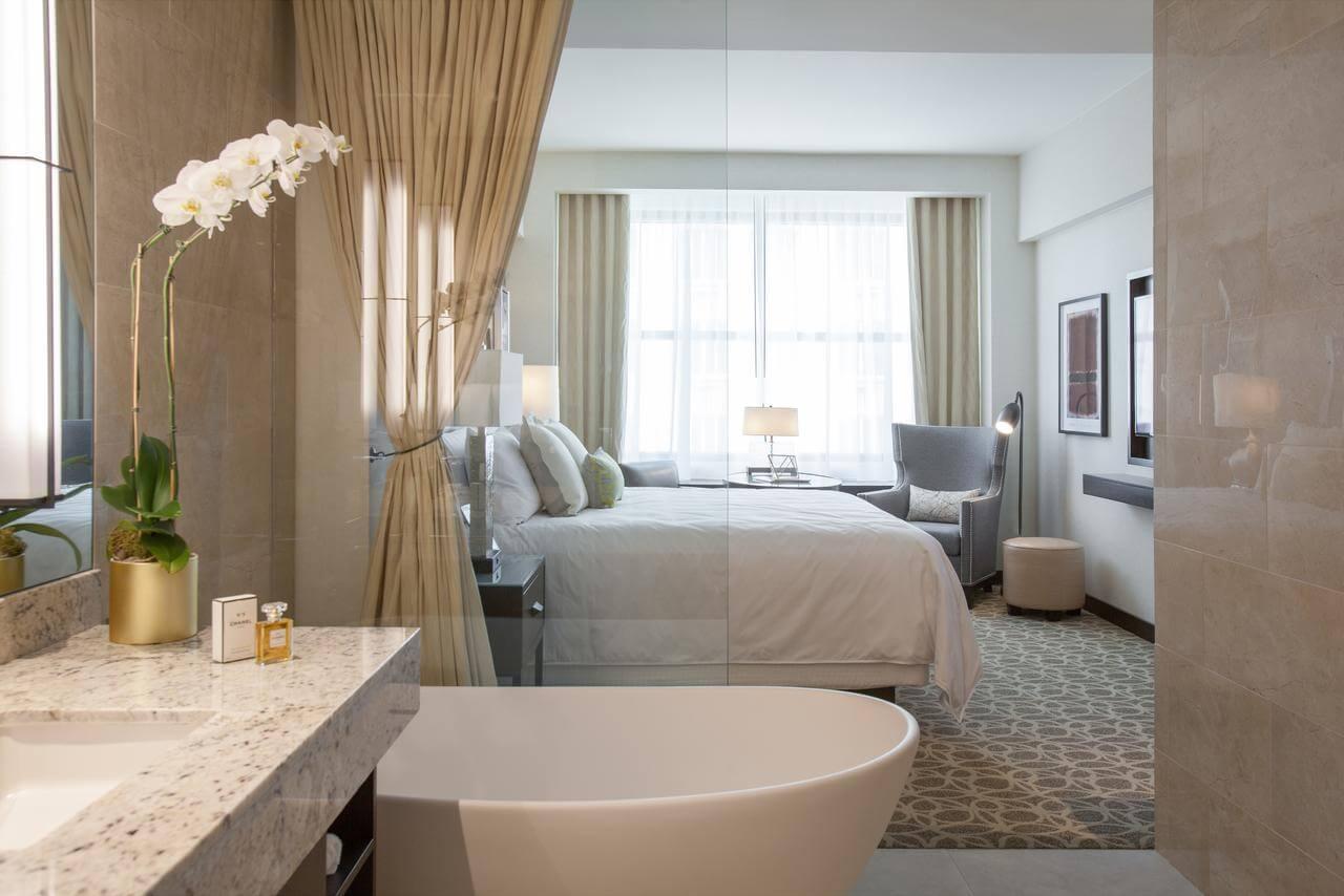 habitación del JW Marriott Houston Downtown - mejores paquetes vacacionales a Houston