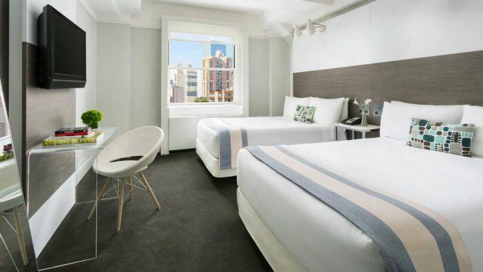 habitación doble del Paramount Hotel Times Square New York - paquetes vacacionales a Nueva York