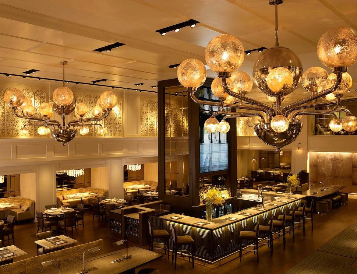 Restaurant-bar del Hotel Park Central New York - mejores paquetes vacacionales a Nueva York