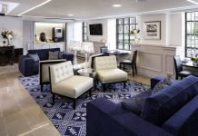 Lobby del Phoenix Park Hotel - mejores paquetes vacacionales a Washington