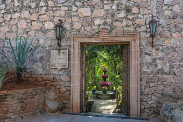 Reseña Hotel Posada del Hidalgo Entrada