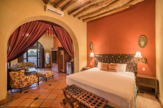 Reseña Hotel Posada del Hidalgo Habitaciones