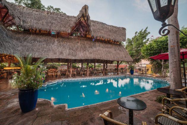 Reseña Hotel Posada del Hidalgo Piscina