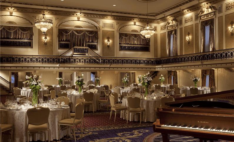 restaurante del hotel Roosevelt Hotel New York - mejores paquetes vacacionales a Nueva York
