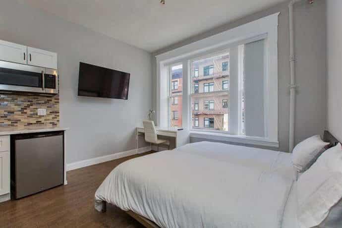 habitación del Sweden House Hotel - mejores paquetes vacacionales a San Francisco