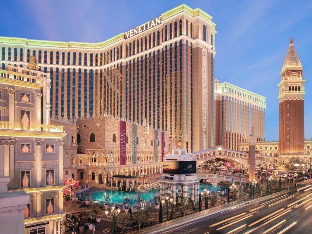 Foto de la fachada del The Venetian Resort Hotel & Casino - mejores paquetes vacacionales a Las Vegas