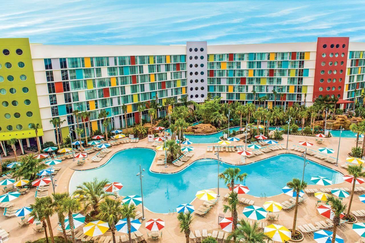 Piscina del Universal's Cabana Bay Beach Resort - mejores paquetes vacacionales a Orlando