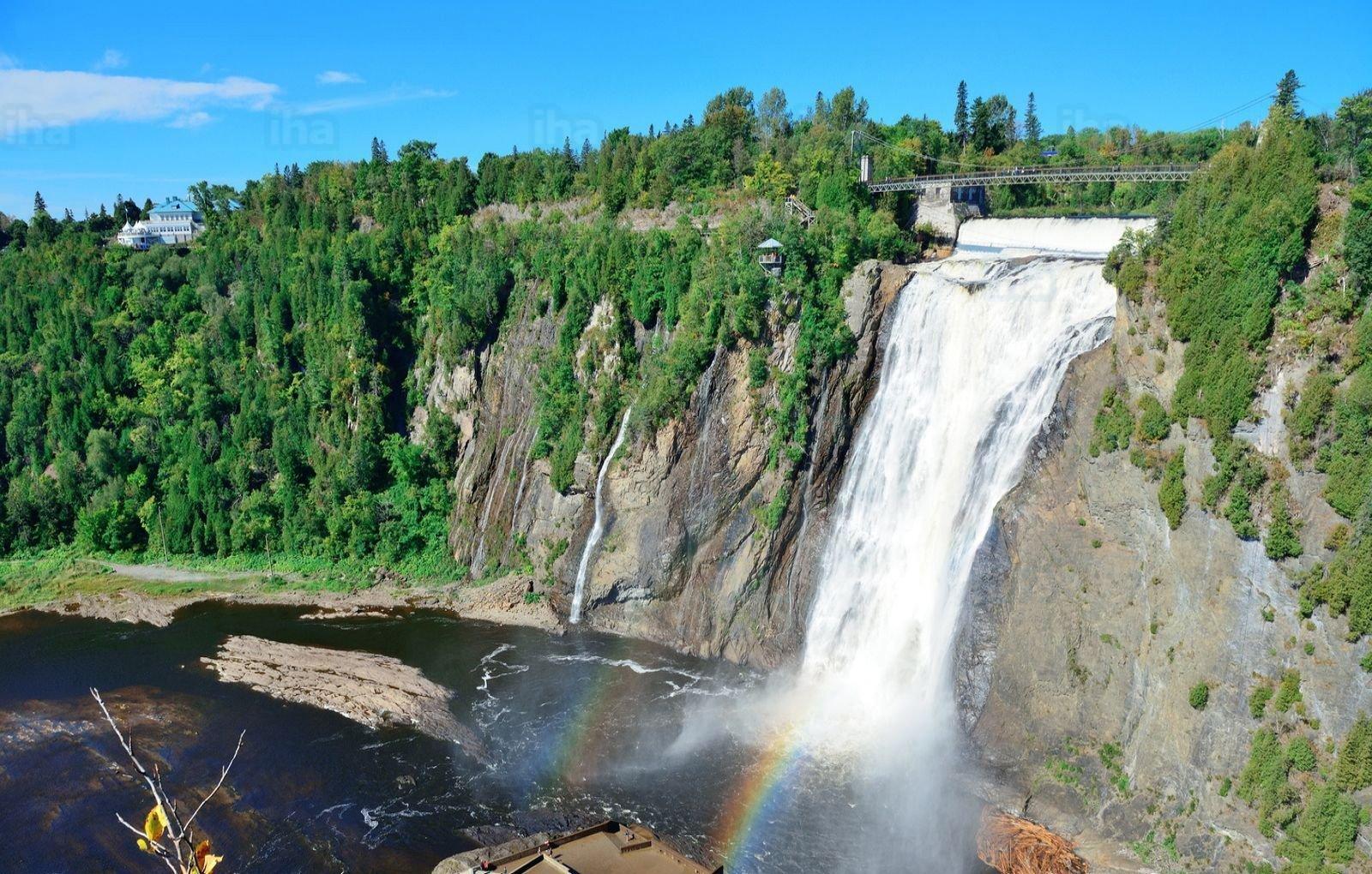 Cascadas de Montmorency - mejores paquetes vacacionales a Canadá