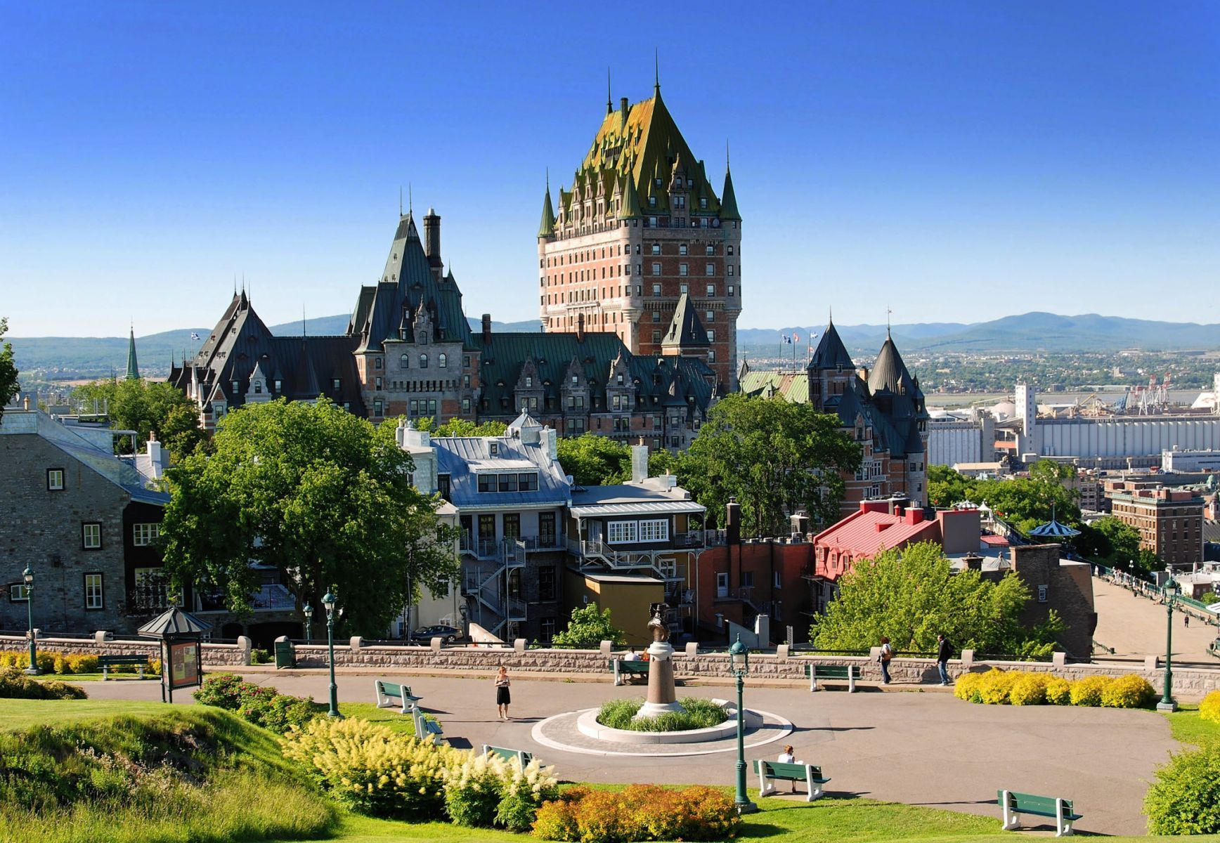 Château Frontenac - mejores paquetes vacacionales a Canadá