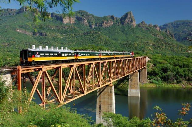 Tren Chepe Puente Barrancas del Cobre