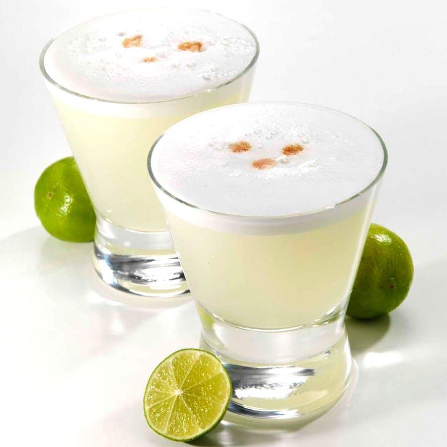 Bebida Pisco sour - platillos típicos de Perú