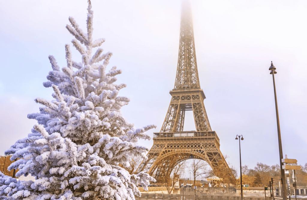 Tour por Europa en París