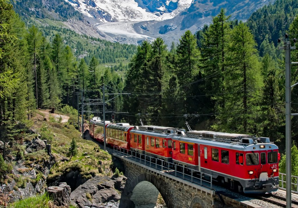 Primavera por Europa en tren