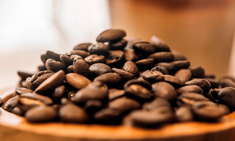 Granos de café de Chiapas